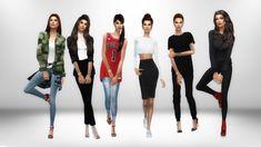 Zendaya Lookbook1. Inspiration [x] • Jacket - @inabadromance • Top - Base Game • Tied Shirt - @tamo-sim • Jeans - @cleotopia • Shoes - @madlensims 2. Inspiration [x] • Jacket - @sims4nexus • Bodysuit...
