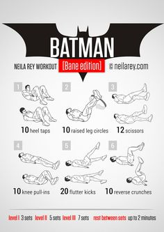 Batman [Bane Edition] Workout | neilarey.com | #fitness #bodyweight