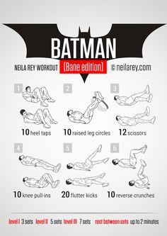 Batman [Bane Edition] Workout   neilarey.com   #fitness #bodyweight