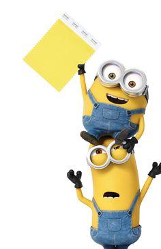 Los Minion ya tienen su propio Pantone. Nace el PANTONE amarillo Minion