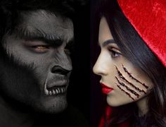 7 Epic Halloween Makeup Tutorials to Inspire Your Costume via @byrdiebeauty