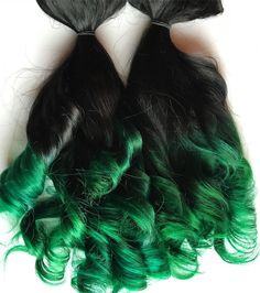 Ombre hair extensions black to dark red mahogany burgundy clip in black and green clip in human hair extensions damnationhair pmusecretfo Gallery