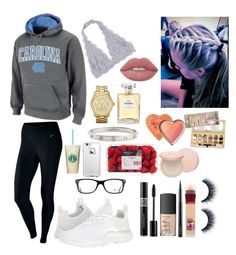 """""""School 77"""" by ella-goodness on Polyvore featuring NIKE, Michael Kors, LifeProof, Chanel, Christian Dior, NARS Cosmetics, Cartier, Ray-Ban, Lime Crime and MAC Cosmetics"""