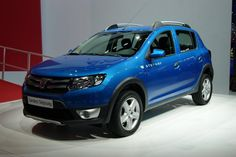 Dacia Sandero Stepway bleu