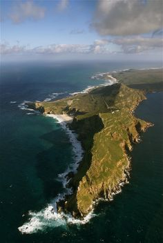 Cape Of Good Hope - southern most point of African Continent. Magical. 9/9/2014