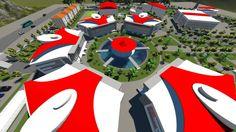 3D Modelleme Antalya Üniversitesi