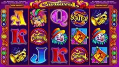 #Carnaval video slot is a five-reel, nine-line, multi-coin game. It is developed by #Microgaming and can be played in @#practice and real money modes.  You are able to play on up to 5 reels simultaneously. You can activate a pay-line for every #coin that is inserted.
