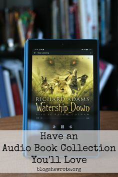 Have an Audio Book Collection You'll Love