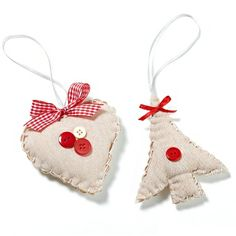 Fabric Heart & Tree Decorations | Craft Ideas & Inspirational Projects | Hobbycraft