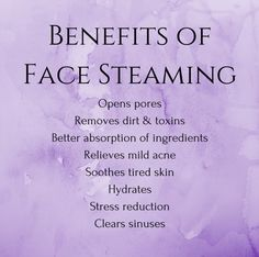 Have you tried steaming your face yet? Talk about a spa like experience at home!… Have you tried steaming your face yet? Talk about a spa like experience at home! Our steam packs are made with lavender flowers and green tea. Beauty Care, Beauty Skin, Beauty Hacks, Diy Beauty, Homemade Beauty, Beauty Secrets, Beauty Guide, Beauty Ideas, Face Beauty