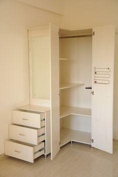 Corner - Closet small