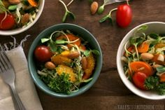 Cabbage orange salad
