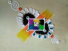 Indian Rangoli, Diwali Rangoli, Beautiful Mehndi Design, Beautiful Rangoli Designs, Flower Mandala, Mandala Art, Easy Rangoli Designs Videos, Best Rangoli Design, Latest Rangoli