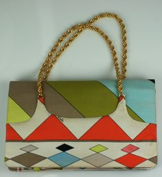 Emilio Pucci Pop Print Handbag   From a collection of rare vintage handbags and purses at http://www.1stdibs.com/fashion/accessories/handbags-purses/