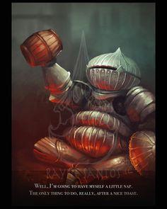 Dark Souls 3 Onion Knight: Siegward of Katarina