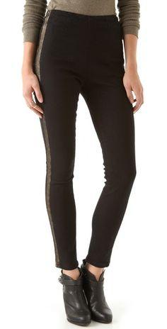20% OFF Washborn Racer Stripe Stretch Skinny Jeans