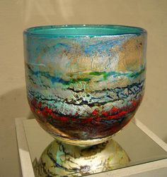 Glass bowl by Adam Aaronson
