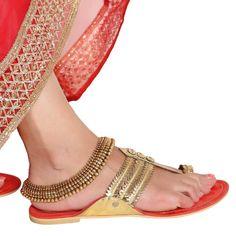 Antique Payal 58398 #Kushals #Jewellery #FashionJewellery #IndianJewellery  #Wedding Accessories #Payal