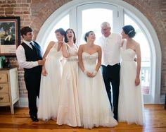 Southern bride / wedding / southern hotel / wedding dress / Covington / New Orleans / Louisiana / St. Peter Catholic Church / bridal / dress / 1216studio / all white / bridesmaids / mother of the bride / father of the bride / brother of the bride