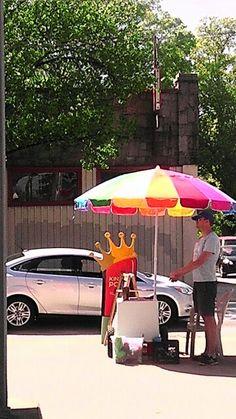 King of Pops Corner at North & Highland rings in spring in #Atlanta.