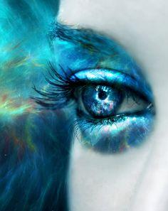 Blue Nebula by MEGAN-Yrrbby.deviantart.com on @deviantART