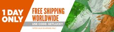 Free Shipping: One Day Only!