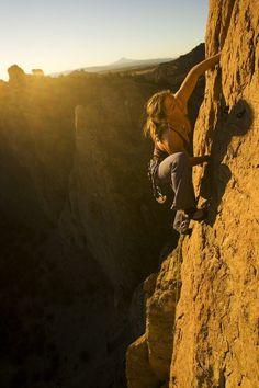 Climbing till the sun goes down