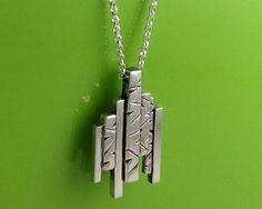Modern Sterling Silver Geometric by annewalkerjewelry