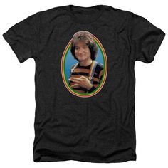Mens Mork from Mork and Mindy Heathered Tee Shirt