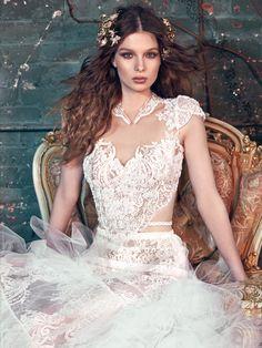 Moda noiva: detalhe vestido Belle Foto: Divulgação Galia Lahav