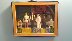 Star wars shadow box for toby