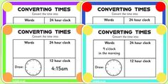Make maths fun with these time themed challenge cards! Each card features a different challenge with visual representations to help your children relate maths problems to real-life scenarios. 12 Hour Clock, Fun Math, Maths, Math Problems, Numeracy, Challenge Cards, Real Life, Challenges, Words