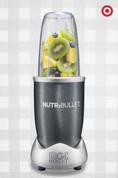 Perfect for the foodie on your Christmas list, the NutriBullet by Magic Bullet turns ordinary food into super food. It opens seeds, cracks through stems, shreds skins and releases the hidden nutrients in food. You can even mill grain, grind herbs, chop nuts, make soups and smoothies and more. Pretty cool.