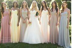Bridesmaids multicoloured