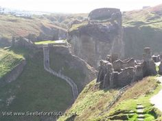 tintagel castle cornwall from king arthur