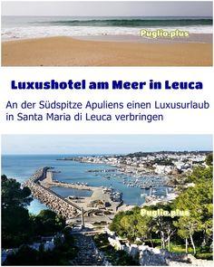 Luxushotels am Meer in Leuca in Apulien - Puglia. Design Hotel, Santa Maria, Hotels, Am Meer, Beach, Water, Outdoor, Gripe Water, Outdoors