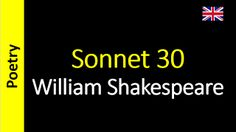 Poesia - Sanderlei Silveira: William Shakespeare - Sonnet 30