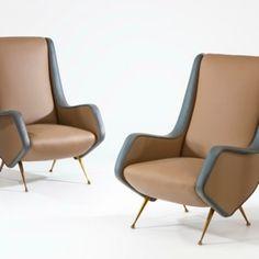 armchairs by Aldo Morbelli   Caira Mandaglio