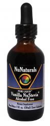 Pure Liquid™ Vanilla Alcohol Free NuStevia™ Glass Bottle 2 oz | NuNaturals, Inc. - This is a truly amazing product. If you love NuNaturals NuStevia, this is a product that you must try. This is not merely a Vanilla flavored Stevia liquid like so many others on the market. This is a true Vanilla extract made from premium bean that produces a product with incomparable taste. Once you have add this to your tea or coffee, yogurt, or lemonade, you will not know how you lived without it.
