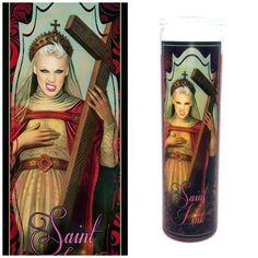 St.Pink Prayer Candle