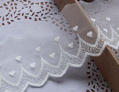 lace trim embroidery lace trim tulle lace trim door hundredmiles, $3.50