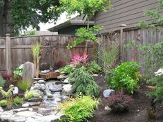 Our customer had a very small yard and wanted to have a peaceful nature filled yard for her and the birds to enjoy.