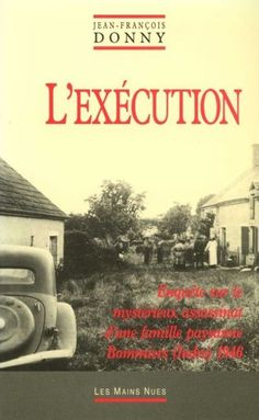*L'exécution, Jean-François Donny. Cliquez sur l'image pour écouter l'émission.