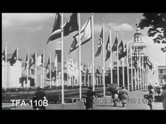 New York World's Fair 1939 - A tour of The World of Tomorrow.