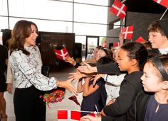 "Scandinavian Royals. on Twitter: ""Yesterday, Crown Princess Mary opened The Copenhagen Cultural Children's Summit."