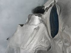 face in ice by CreativePixtures, via Flickr