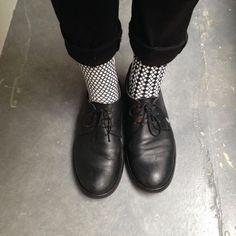 #oybosocks #oybo #socks #stripes #chaussettes #sokken #calzini #style #blackandwhite #oddsocks shoesandsocks #streetstyle