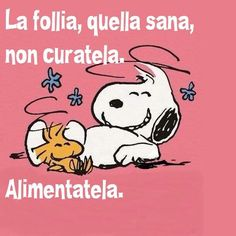 145 Immagini e stati divertenti per Whatsapp - WhatsApp Web - Whatsappare Charlie Brown Peanuts, Peanuts Snoopy, Motivational Quotes, Funny Quotes, Life Quotes, V Quote, Snoopy Quotes, Italian Quotes, Feelings Words