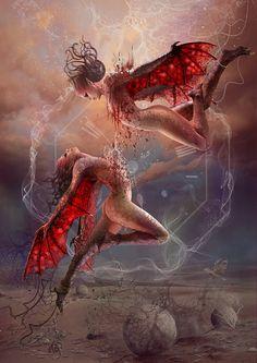 Blood Zodiac. Gemini II by Vasylina