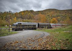 RailPictures.Net Photo: WVC 67 West Virginia Central Railroad EMD F7(A) at Bowden, West Virginia by Chase Gunnoe